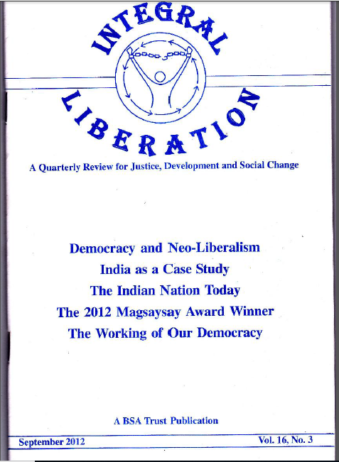 Article in London – Integral Liberation – Democracy and Neo-Liberation