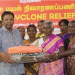 Gaja Cyclone Relief - Rs.75 lakhs