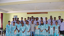 STUDENTS FROM DON BOSCO COLLEGE